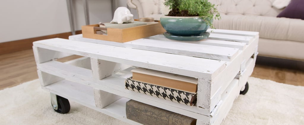 This DIY Pallet Coffee Table Can Be Made in Just 1 Afternoon