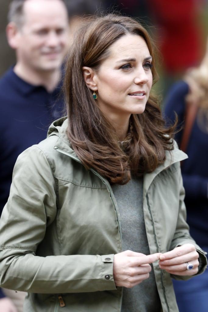 Kate Middleton Haircut After Maternity Leave October 2018 Popsugar