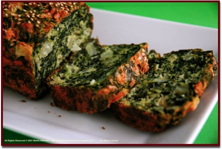 Yummy Link: Spinach & Fennel Loaf
