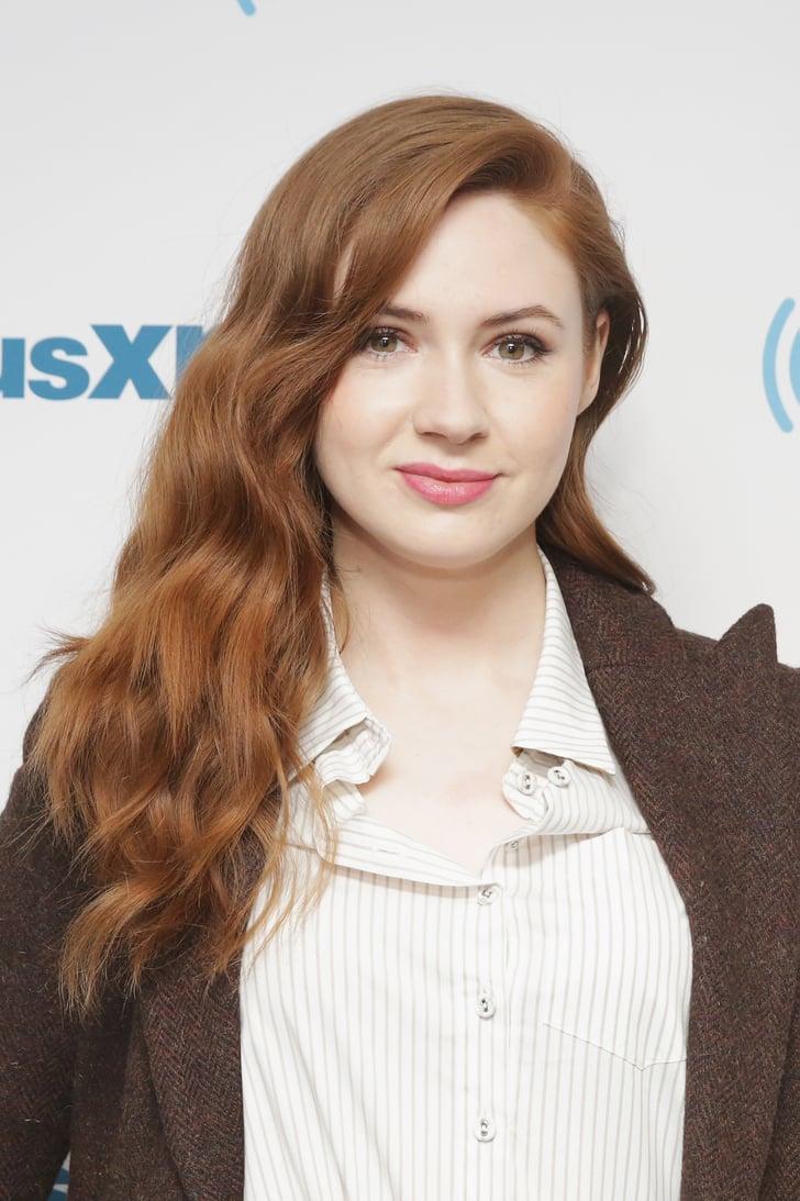April 2018 Karen Gillan Hair Photos Popsugar Beauty