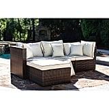 Wayfair Burruss Patio Sectional with Cushions