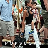 Nicole Richie Family Vacation Pictures