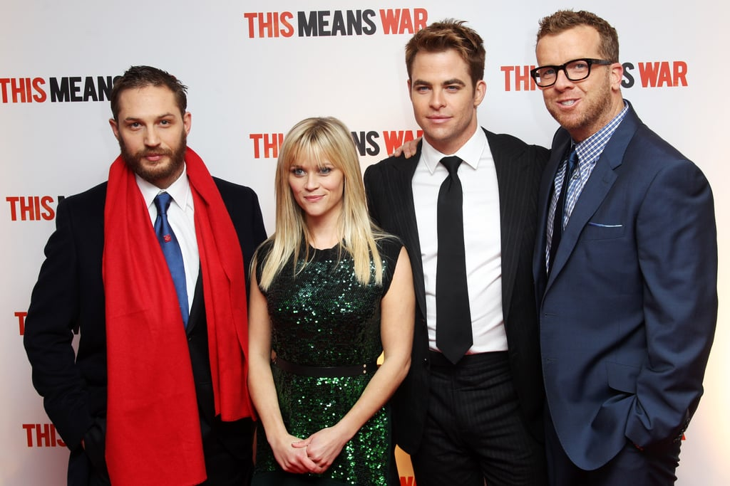Reese Shares Her Love With Tom, Chris and Their UK Fans