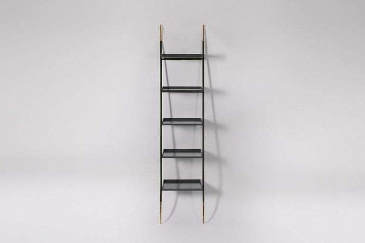 Swoon Houdini Grey Five Shelf Shelving Unit