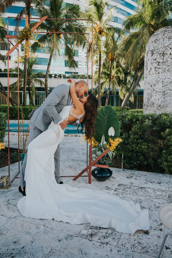 This Couple Just Took Miami's Heat up a Notch With Their Steamy Wedding Shoot, and Wow