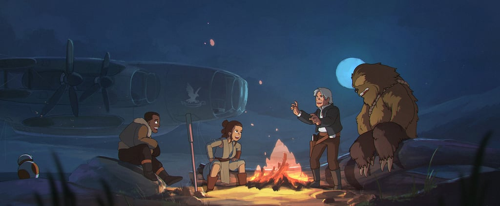 Prepare to Geek Out Over This Star Wars Meets Studio Ghibli Fan Art