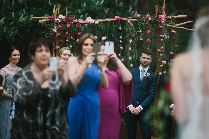 Device free wedding ceremonies popsugar tech junglespirit Images
