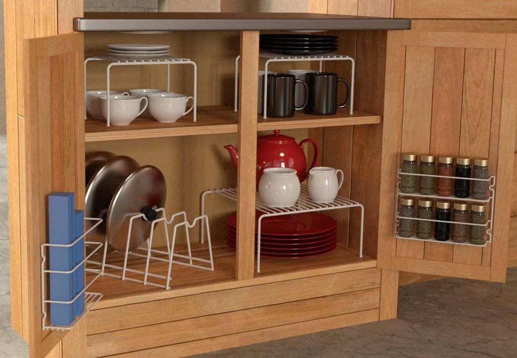 Grayline 6-Piece Cabinet Organiser Set