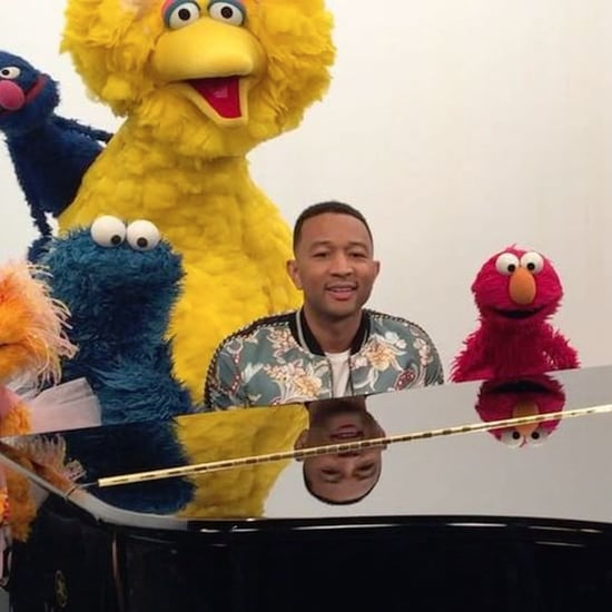 John Legend Sesame Street Video For Baby Luna 2016