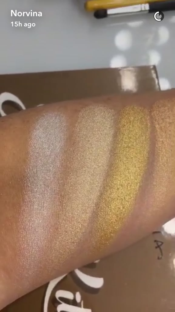 From left to right: Snow, White Sand, Golden Dawn, Sunray