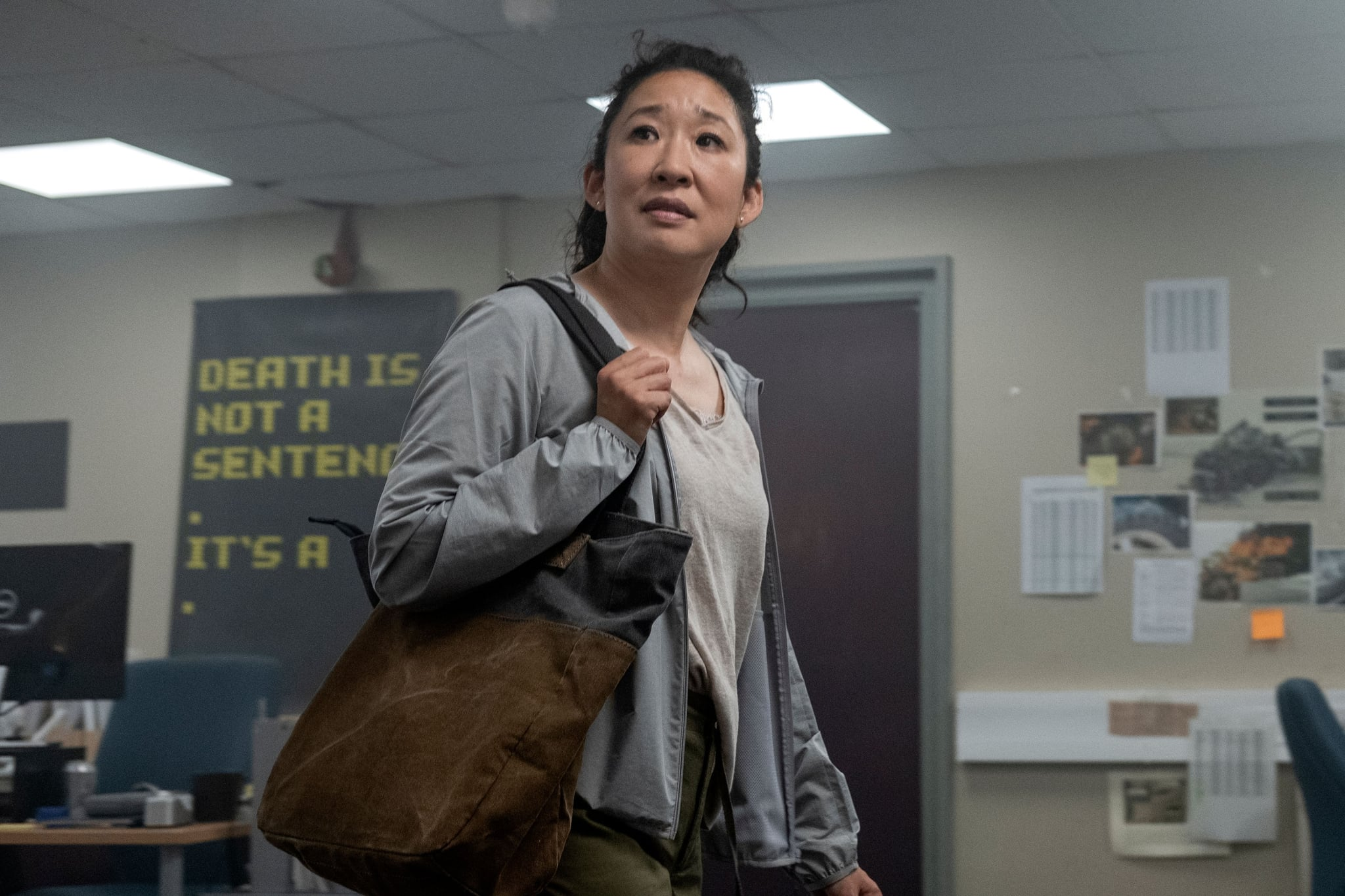 KILLING EVE, Sandra Oh, 'Slowly Slowly Catchy Monkey', (Season 3, ep. 301, aired Apr. 12, 2020). photo: Laura Radford / BBC-America / Courtesy Everett Collection