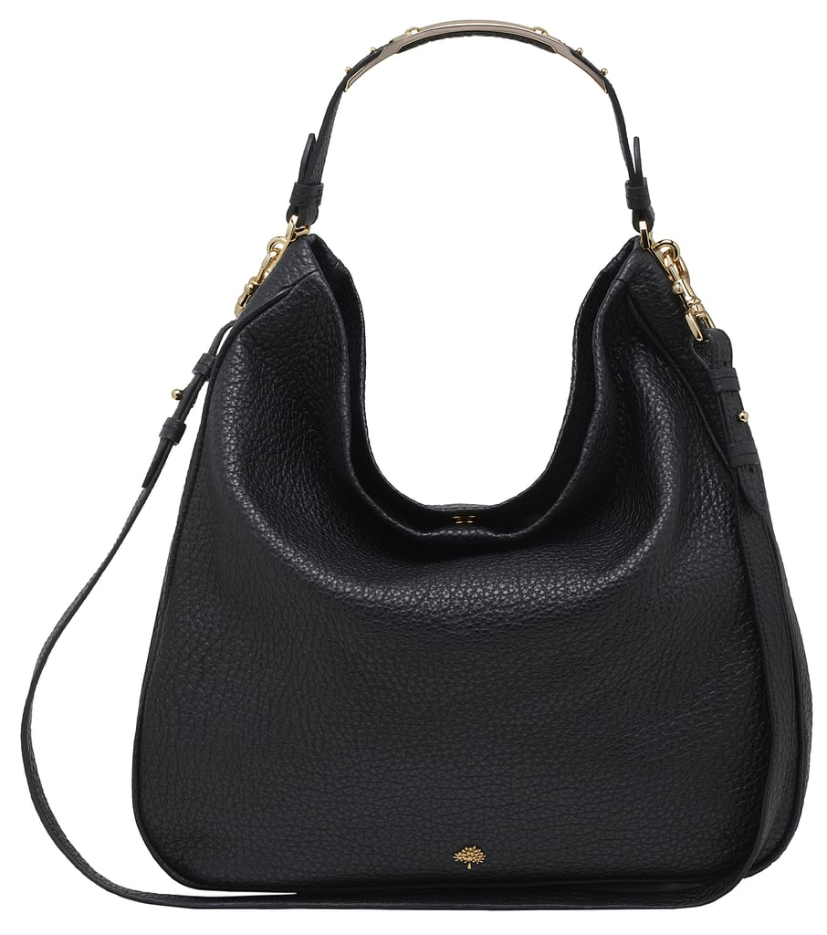 fd31c40b71e2 Evelina Hobo in Black Soft Large Grain - £795