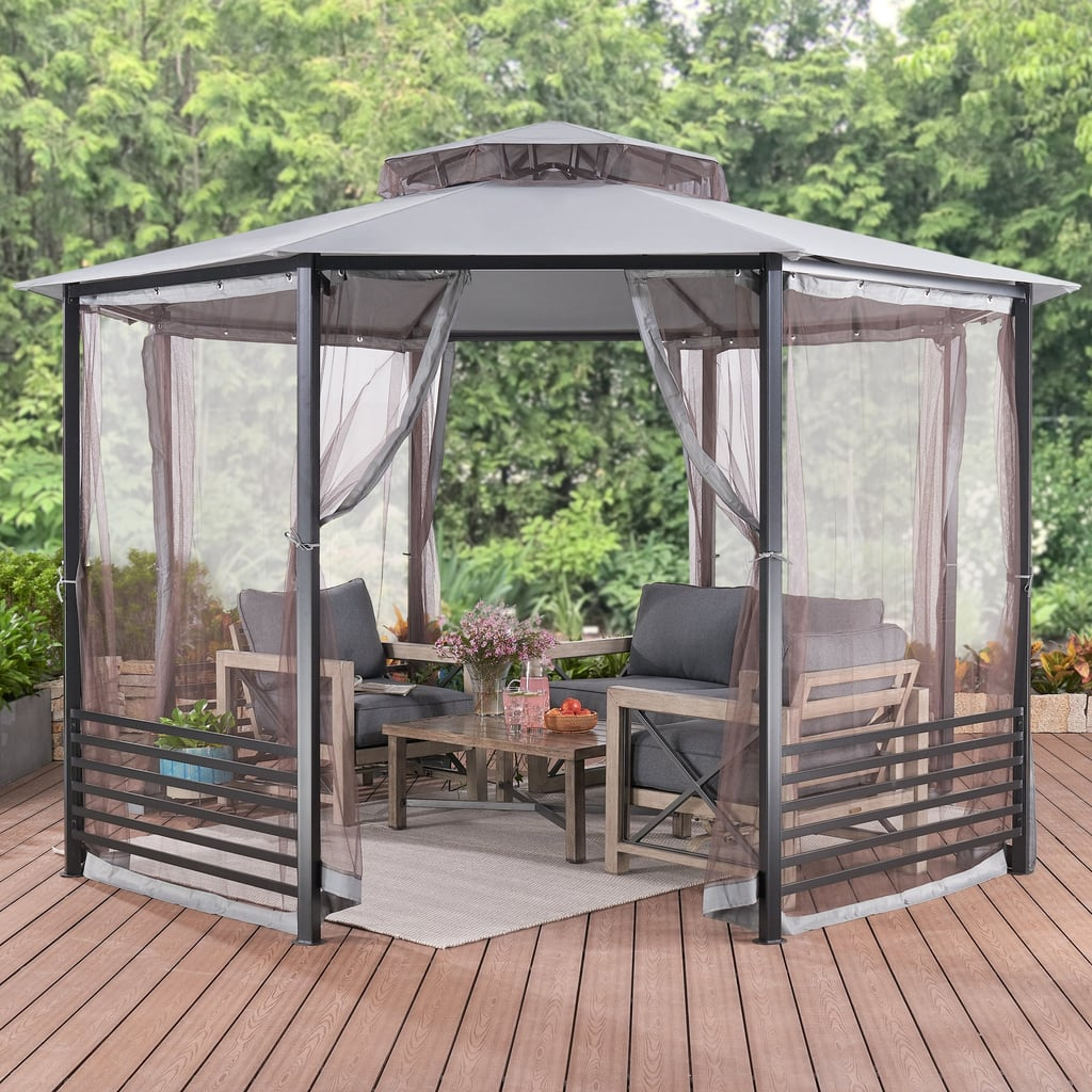 Octagon Gazebo With Netting