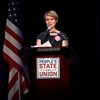 Cynthia Nixon Running For Governor of New York 2018