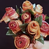 Chocolate Bacon Roses
