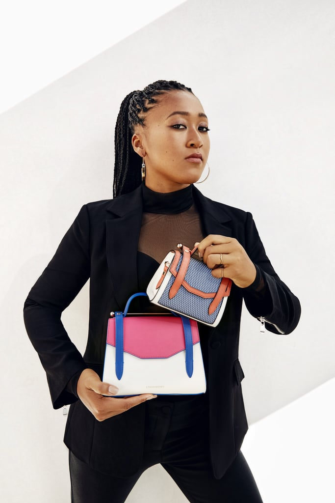 See and Shop Naomi Osaka's Strathberry Bag Collection