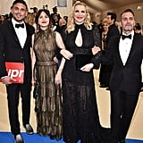 Courtney Love and Frances Bean Cobain at the 2017 Met Gala