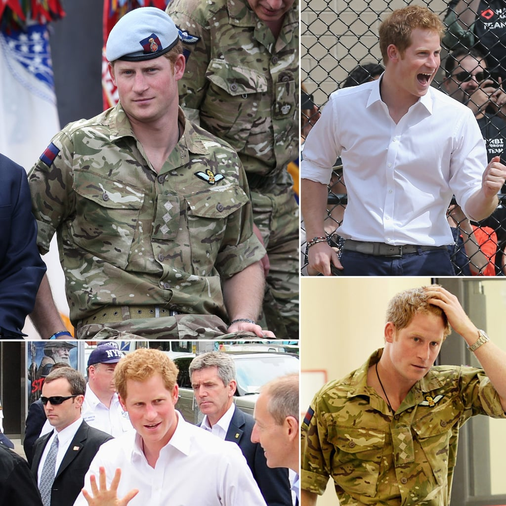 Hot Prince Harry Photos From His US Tour