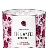 Rose Water Meringue 3-Wick Candle