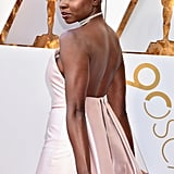 Danai Gurira Hair and Makeup at the 2018 Oscars