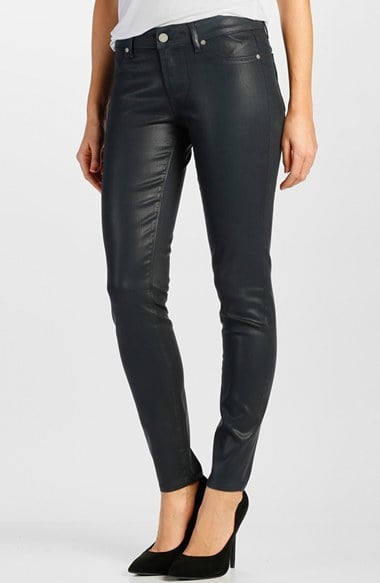 Paige Denim Skinny Coated Jean ($199)