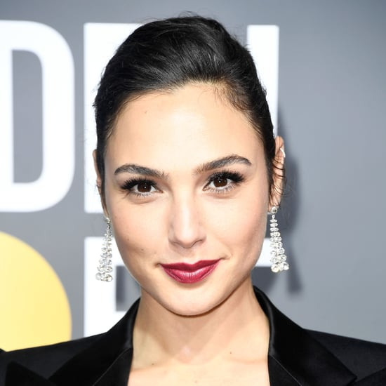 Gal Gadot at Golden Globes 2018