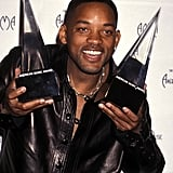 Will Smith won two awards in 1999.