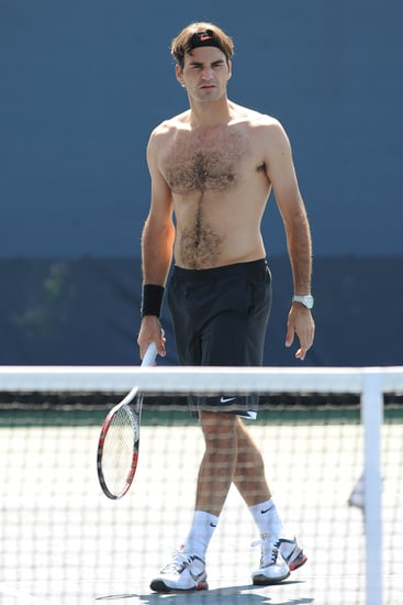 Who's Your Favorite Shirtless Tennis Stud?