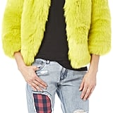 Lavish Alice Faux Fur Coat