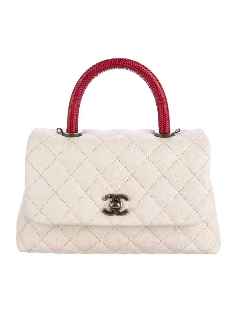 1d3f4fb4118d Chanel 2017 Mini Coco Handle Bag | Kate Middleton Carrying Burgundy ...