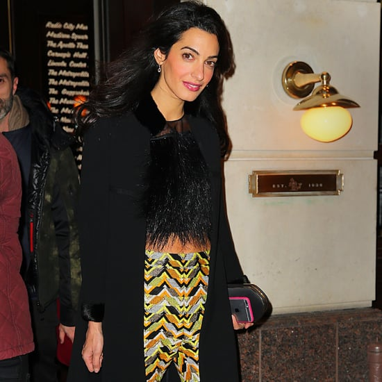 Amal Clooney Pants Style