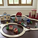Wooden Train Set