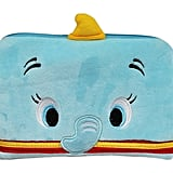 Disney's Dumbo Light Blue Colored Zipper Top Cosmetic Bag