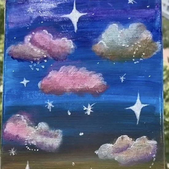 Learn How to Paint Clouds With These TikTok How-To Videos