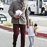 Ben Affleck was out in LA.