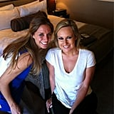 Sunrise's Melissa Doyle shared a photo while getting her Logies makeup done.