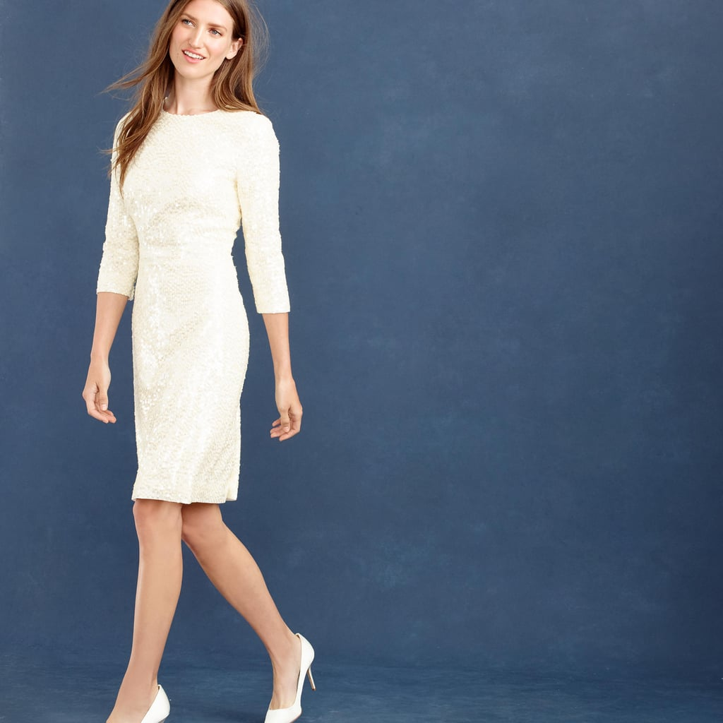 J.Crew Collection Sequin Shift Dress ($795)