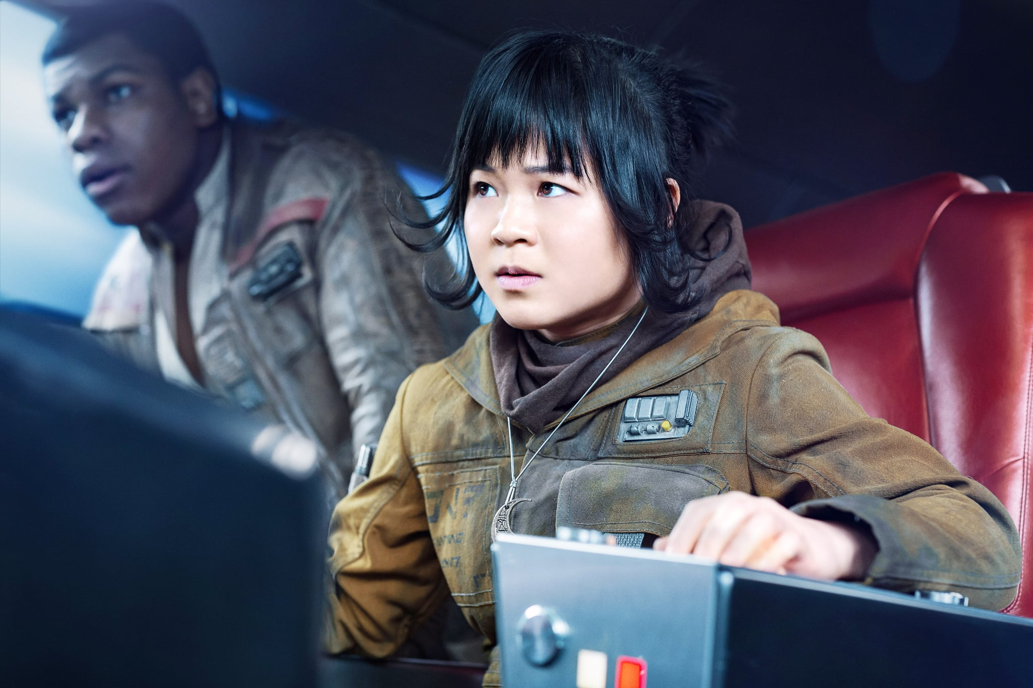 STAR WARS: THE LAST JEDI, (aka STAR WARS: EPISODE VIII - THE LAST JEDI), from left: John Boyega, Kelly Marie Tran, 2017. ph: Jonathan Olley / Walt Disney Studios Motion Pictures /  Lucasfilm Ltd. /Courtesy Everett Collection