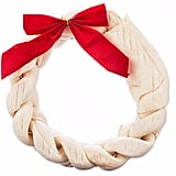 Time For Joy Wreath Rawhide For Dogs ($10)