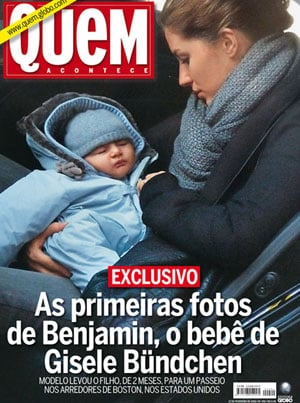 First Photo of Gisele Bundchen's Son Benjamin Brady in Brazilian Magazine Quem