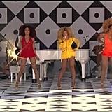 "Good Morning America, (New York City), 2008: ""Single Ladies (Put a Ring on It)"""