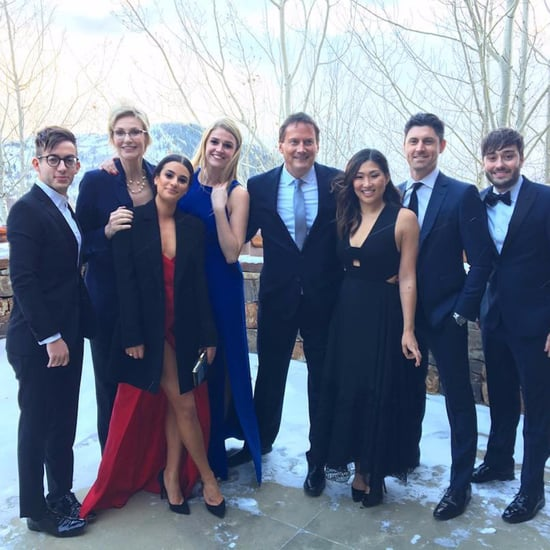 Glee Reunion Instagram Photos From Becca Tobin's Wedding