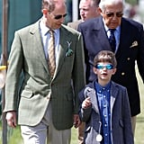 Prince Edward and James, Viscount Severn