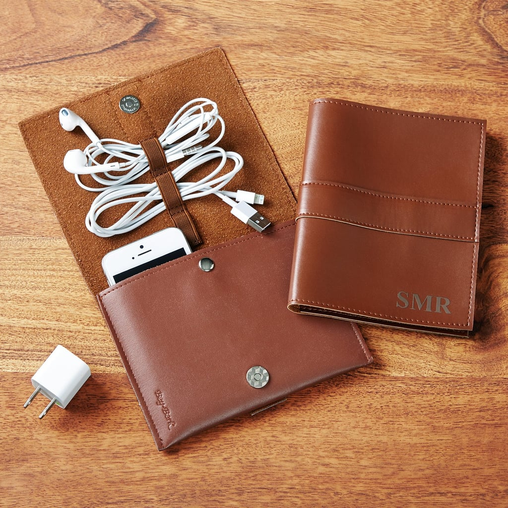 Leather Tech Organizer