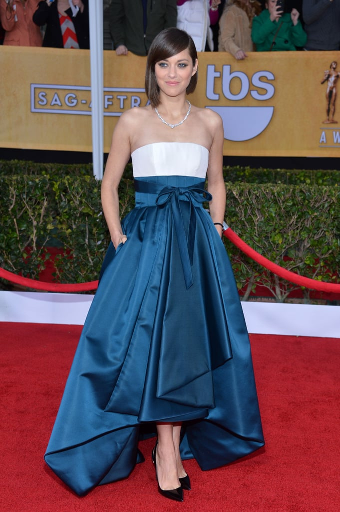 Marion Cotillard at the 2013 SAG Awards