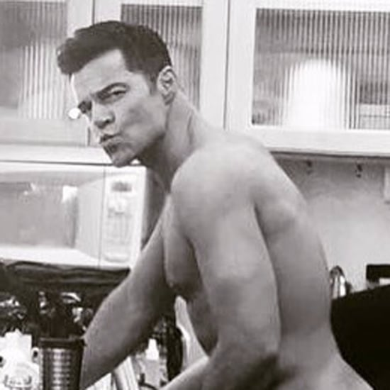Ricky Martin Butt Makeup on Set of American Crime Story