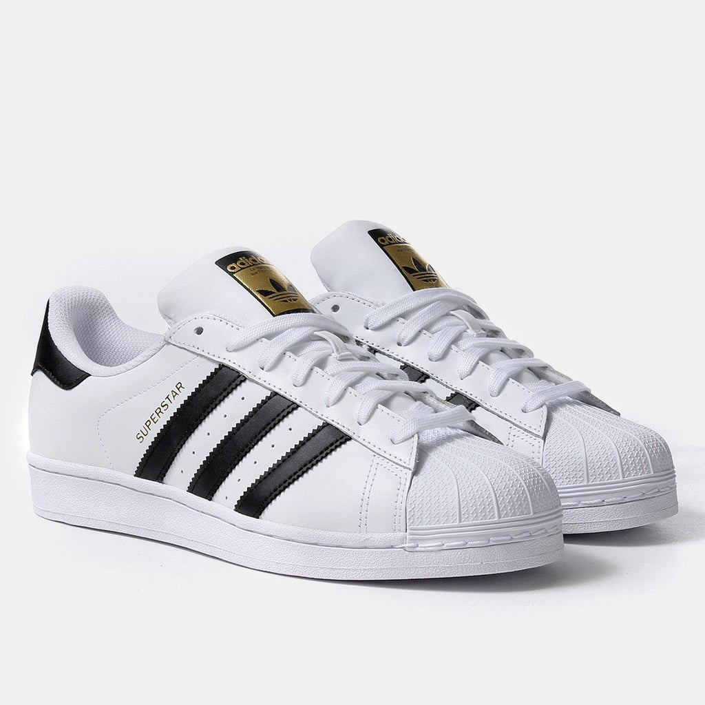 Adidas Superstar Sneakers in White and Black, $119.99 | Best