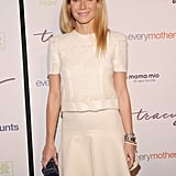 Gwyneth Paltrow Goes Glam to Support Tracy Anderson's Pregnancy Project