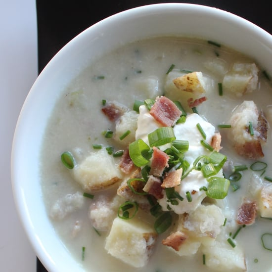 Healthy Baked Potato Soup