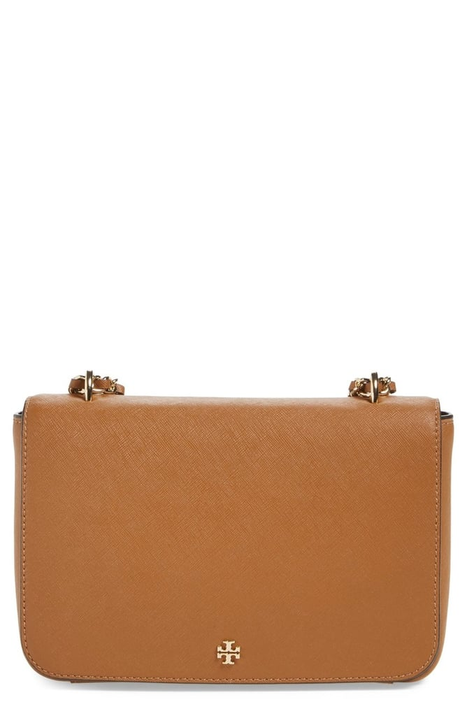 Tory Burch Robinson Leather Convertible Shoulder Bag ($425)